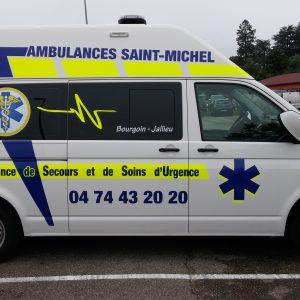 Adhésif spécial ambulance