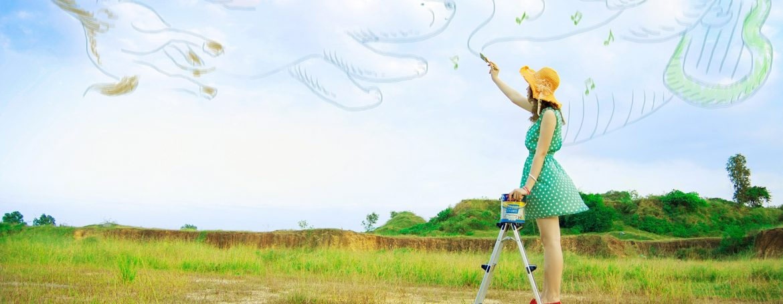 peinture ciel