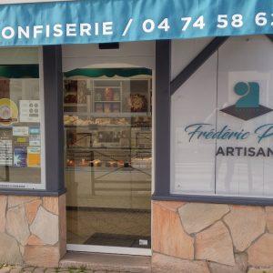 boulangerie plaque plexi et logos